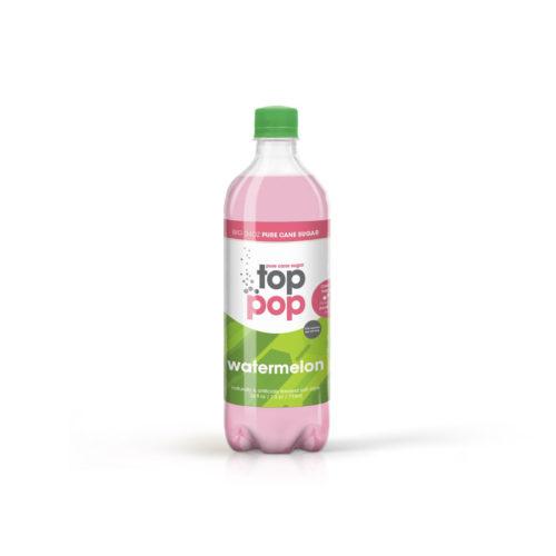 Pure Cane Sugar Top Pop Watermelon