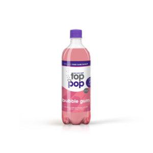 Pure Cane Sugar Top Pop Bubble Gum Soda