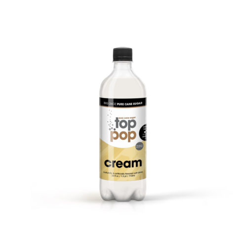 Pure Cane Sugar Top Pop Cream Soda