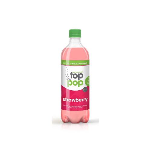 Pure Cane Sugar Top Pop Strawberry