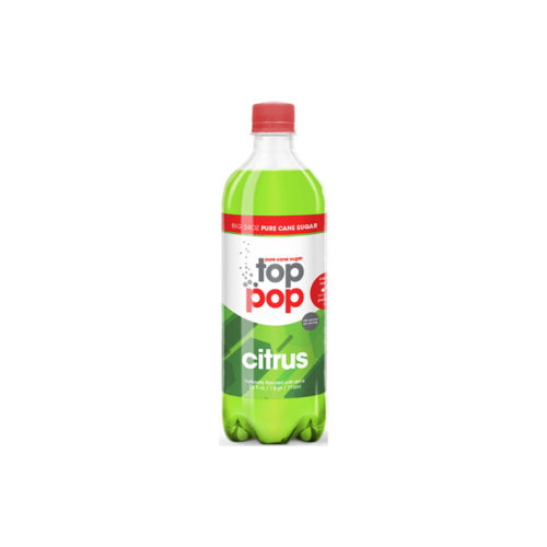 Pure Cane Sugar Top Pop Citrus