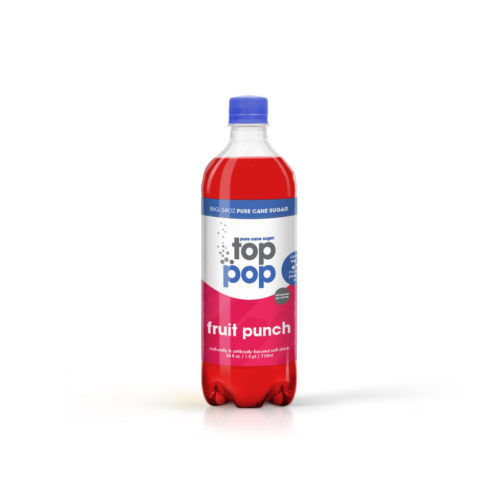 Pure Cane Sugar Top Pop Fruit Punch