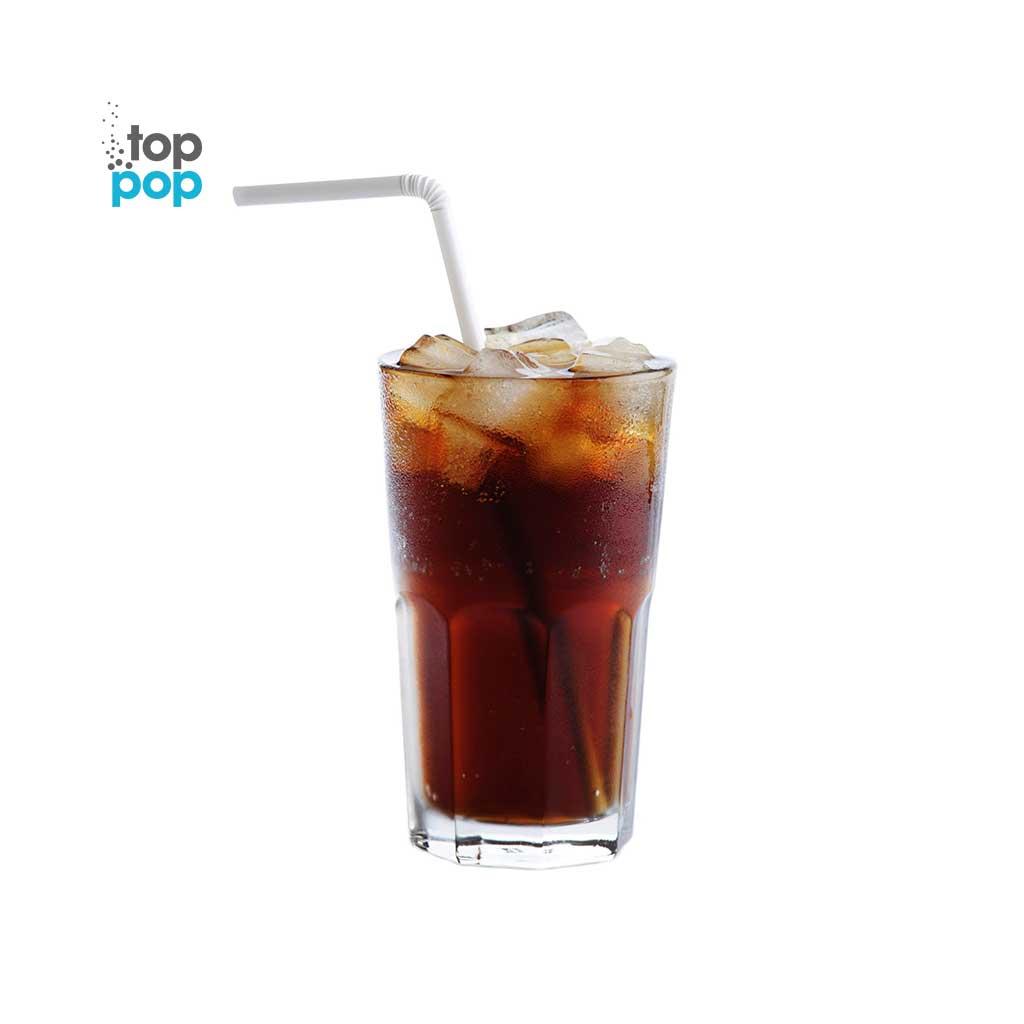 Pure Cane Sugar Top Pop Cola