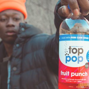 Top Pop Fruit Punch Soda
