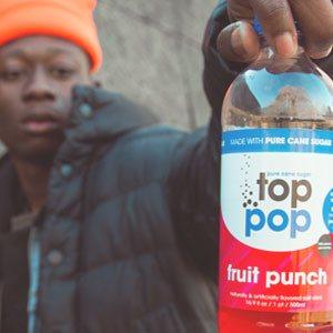 Top Pop Fruit Punch Soda