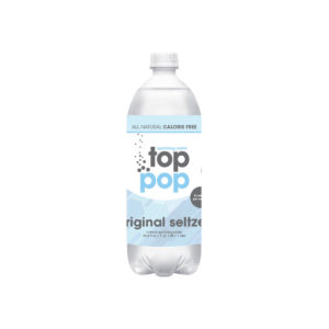 Top Pop Sparkling Seltzer Water Original 1 Liter